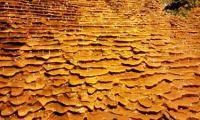 Grube Glasebach, Bergbaupfad und Uhlenköpfe